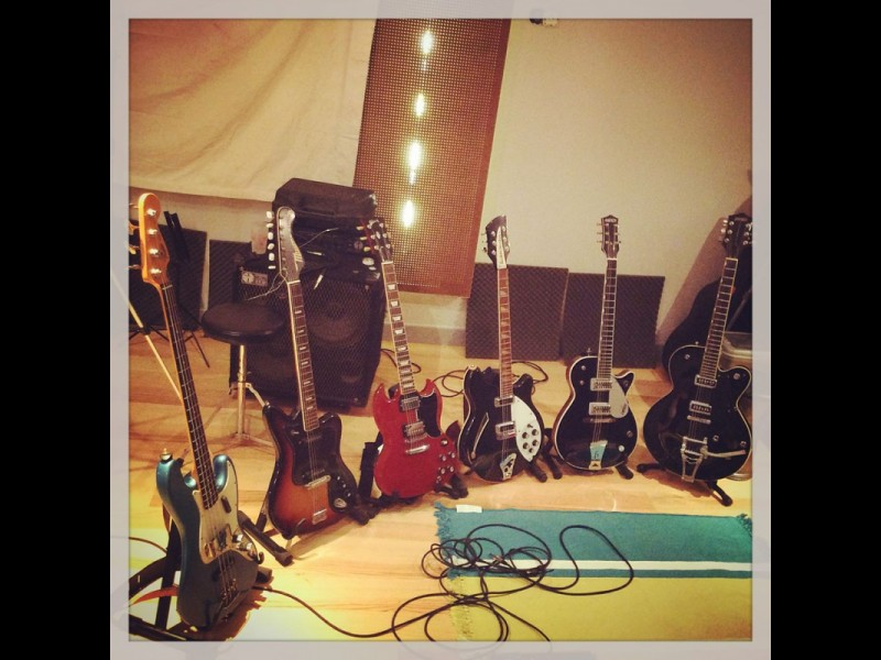 Monsieur Spoke au Studio - Guitares Backline